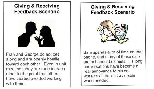 Feedback cards 2